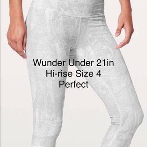 Wunder Under HR size 4